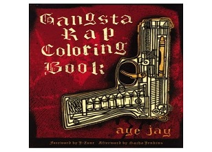 Gangsta Rap Coloring Book – Mostly Brown Crayons Needed ...