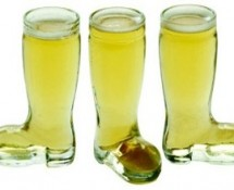 Shot Glass Beer Boot