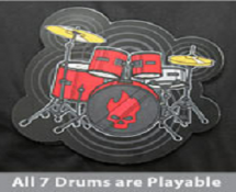 Electronic Drum Shirt