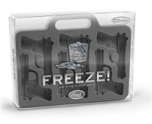 Fred &amp; Friends Freeze Handgun-Shaped Ice-Cube Tray