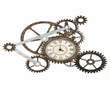 Gear Wall Art Clock