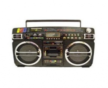 Ghetto Blaster with iPod Dock
