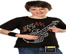 Kid's Electronic Rock Guitar Shirt