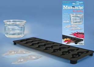 Mustache Ice Cube Tray