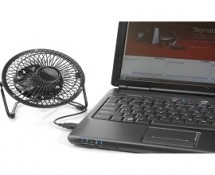 Retro Desktop Fan with USB Cord