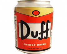 Simpson's Duff Energy Drink