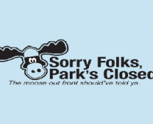 Sorry Folks, Park's Closed.