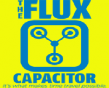 THE FLUX CAPACITOR T-SHIRT