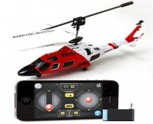 iPhone iPad Controlled RC Helicopter
