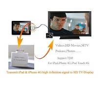 Hook your Apple ipod ipad iphone to tv