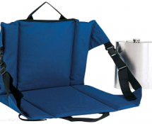 Tailgating King Stadium Seat with Hidden Flask
