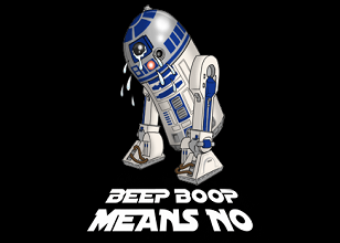 Beep Boop Means No T-shirt